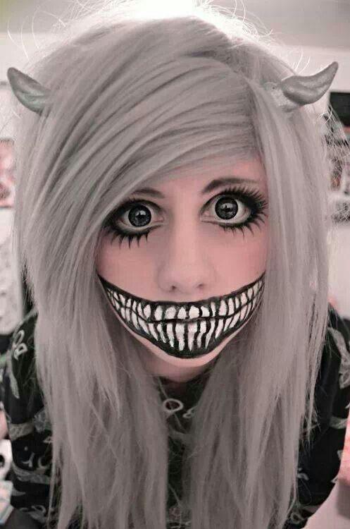 20 Easy Halloween make-up ideas | Pretty Happiness